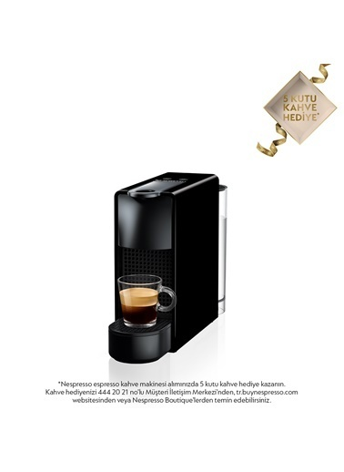 Nespresso Essenza Mini C 30 Black Siyah